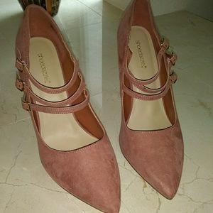 Size 12 blush pink heels NWB